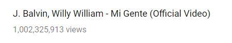 J Balvin: Mi Gente chegou a 1 bilhão de views