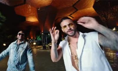 Maluma e Flo Rida estão juntos em Hola