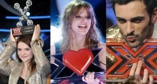 Vencedores do X Factor Italia