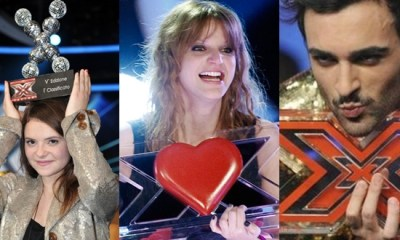 Vencedores do X Factor Italia