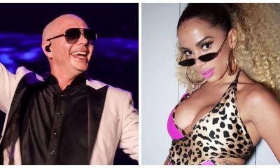 Anitta e Pitbull juntos?
