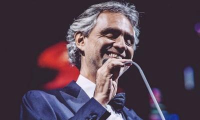Andrea Bocelli vem ao Brasil com nova turnê em setembro