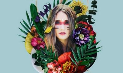 Essa é a capa de Origen, o novo projeto musical da ex-RBD Dulce Maria