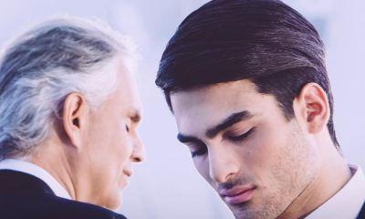 Andrea Bocelli canta ao lado do filho em novo single
