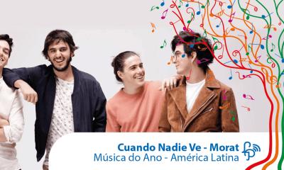 Cuando Nadie Ve, do Morat, é a melhor música da América Latina