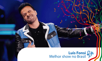 Luis Fonsi fez o show latino do ano no Brasil
