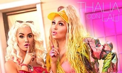 Thalia revela novo visual na capa de Lindo Pero Bruto com Lali