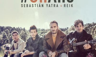 Capa do single Un Año, do Sebastián Yatra com o Reik