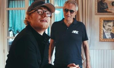 Amo Soltanto é a segunda colaboração de Andrea Bocelli e Ed Sheeran