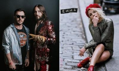 Emma Marrone vai lançar música com o grupo 30 Seconds To Mars