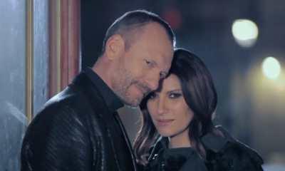 Laura Pausini e Biagio Antonacci estrearam novo clipe
