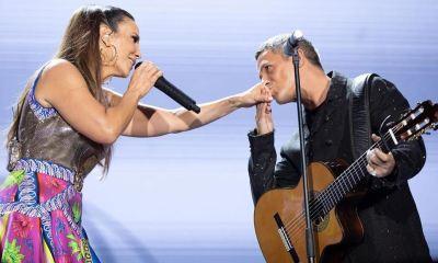 Alejandro Sanz foi convidado por Ivete Sangalo para o Live Experience