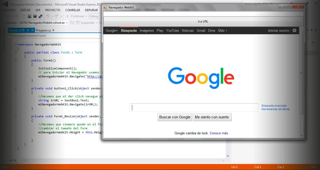 WebKit en C#