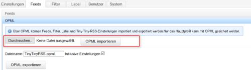 ttrss_einstellungen_import