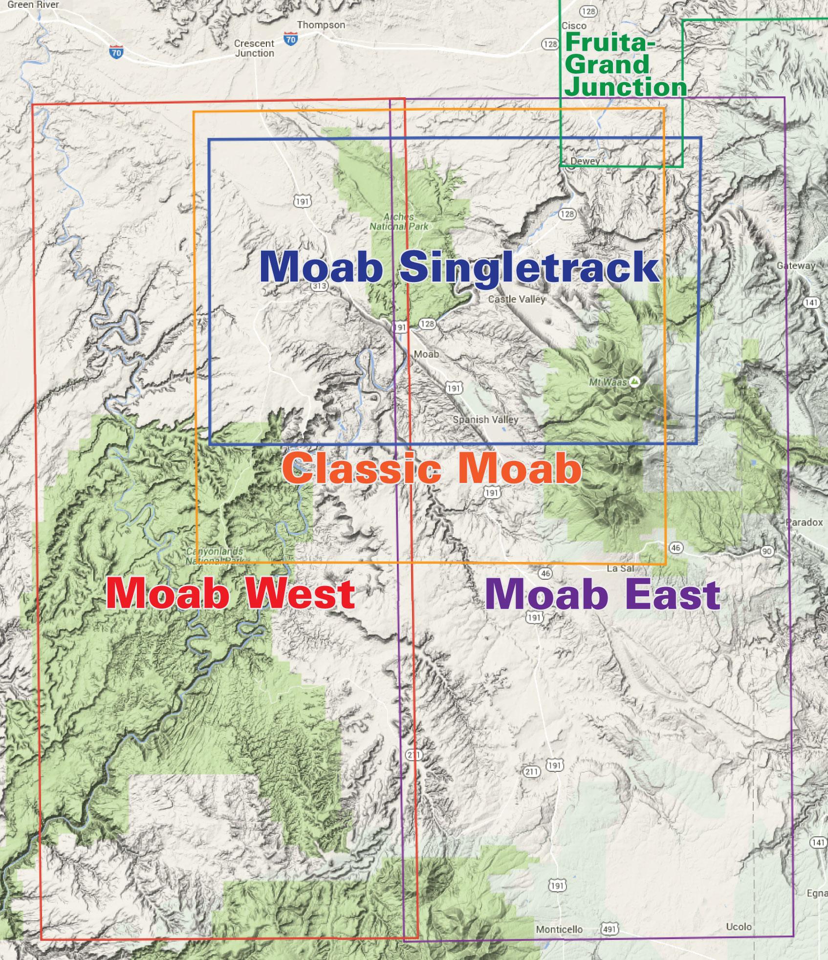 Moab West Trails