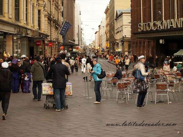 Center of Helsinki