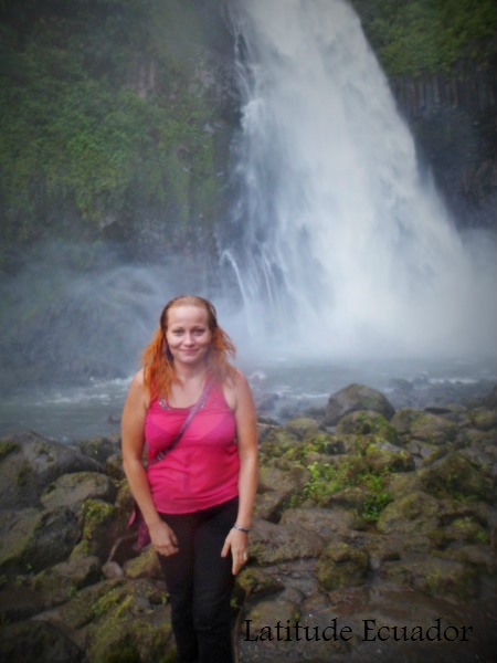 Rio Malo Waterfall Ecuador