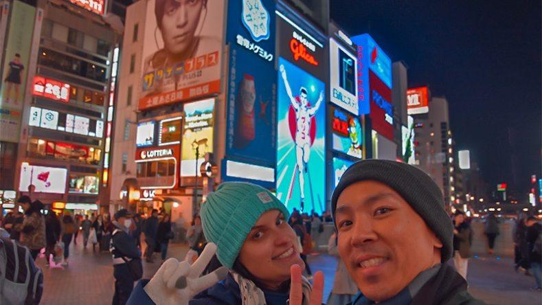 Hotel em Osaka e Dotonbori
