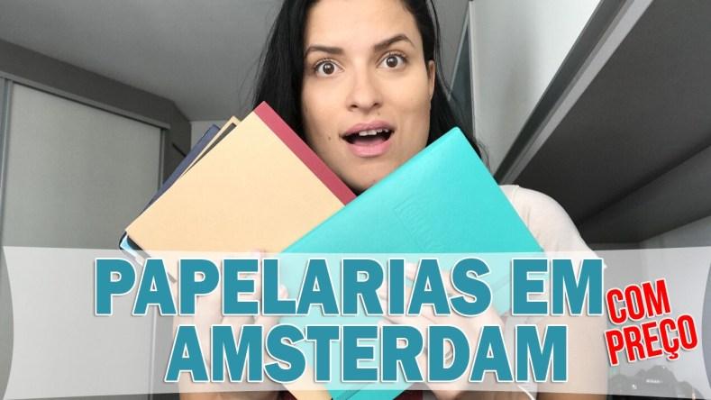 Papelarias em Amsterdam: Onde ir