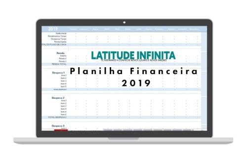 planilha financeira 2019