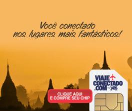 Chip de Internet: Viajar para fora conectado