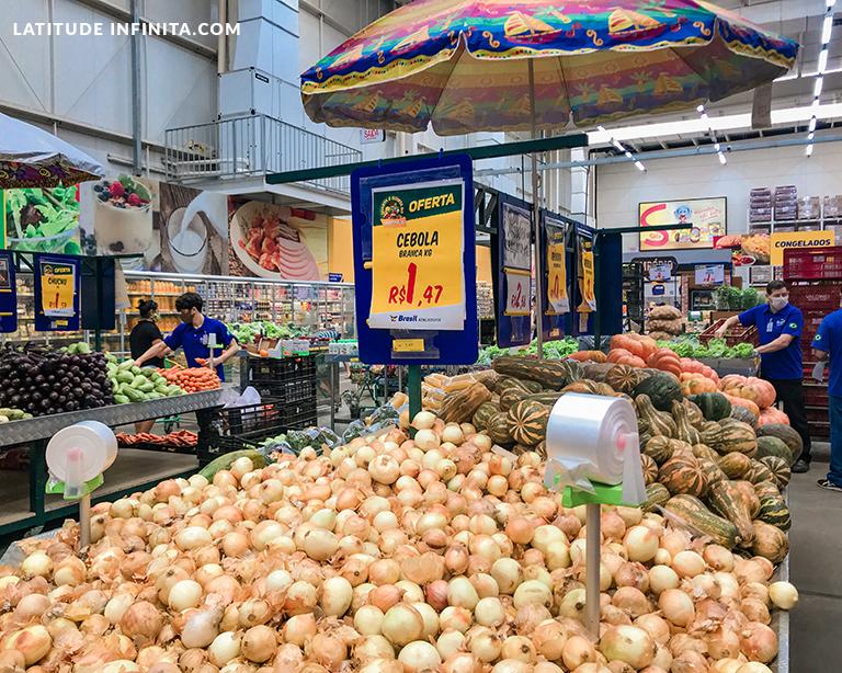 valor da cebola no Brasil Atacadista