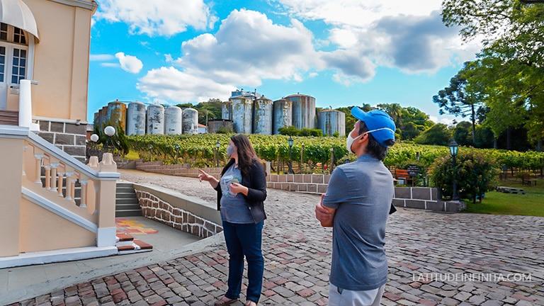 visitação vinicola peterlongo