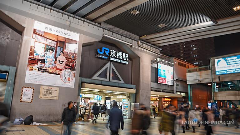 jr kyobashi station