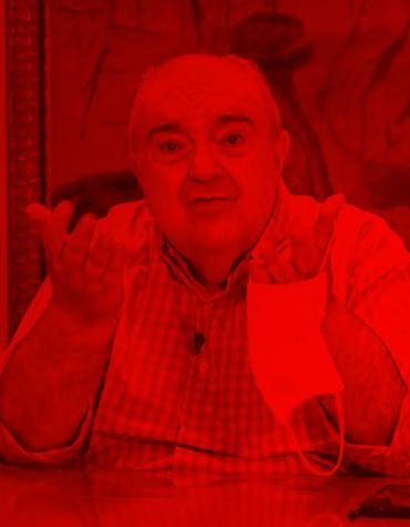 Bandeira vermelha em Curitiba
