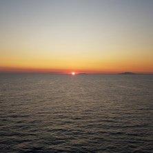 tramonto in Sardegna nord