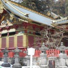 Nikko santuario con la neve