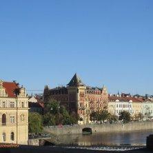 panorama su Praga