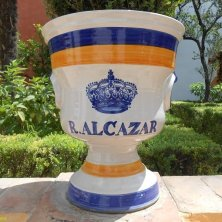 nel giardino Alcazar