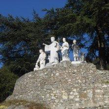 statue santi a Subiaco