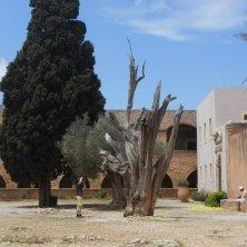 monastero Arkadi cortile