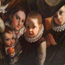 Madonna con santi e membri famiglia Zuccari