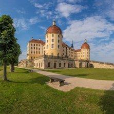Moritzburg Castle in Sassonia