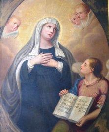 Ritratto di Santa Francesca Romana