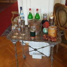 carrello dei liquori