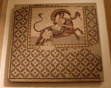 mosaico al museo