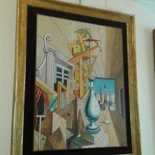 quadri in mostra alla casa