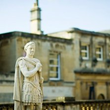 statua romana a Bath