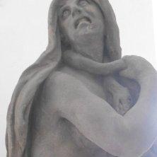 Invidia, statua di Braun a Kladruby