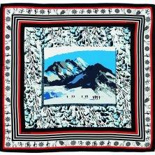 foulard vintage in mostra