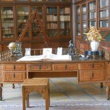 sala della biblioteca Kladruby