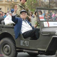 veterano in parata