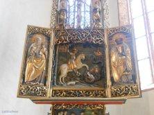 altare con Sant'Anna e San Giorgio