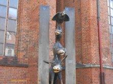 statua Musicanti a Riga