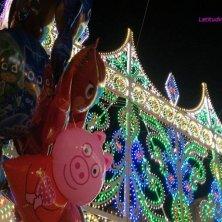 luminarie e Peppa Pig