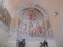 affreschi chiesa di San Sebastiano